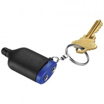 2 in 1 Muzieksplitter stylus met sleutelhanger