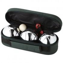 Jeu de boules set met 3 ballen