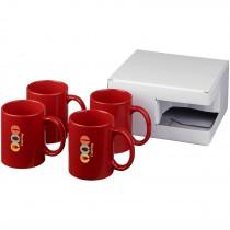 Ceramic mok 4 delige geschenkset