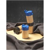 Arca 200 ml lekvrije koper vacuümbeker van bamboe