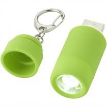 Avior oplaadbaar LED USB sleutelhangerlampje