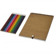 Claude kleurset met notitieboek