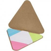 Triangle sticky notes