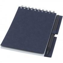 Luciano Eco ringbandnotitieboek met potlood - klein