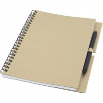 Luciano Eco ringbandnotitieboek met potlood - medium
