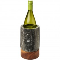 Harlow wijnkoeler van marmer en hout