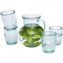Terazza 5-delige glazenset van gerecycled glas