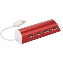 Power 4 poorts USB hub en telefoonstandaard