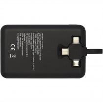 Kano 5000 mAh draadloze powerbank met 3-in-1-kabel