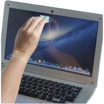Clip on webcamblokker en schermreiniger