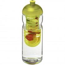 H2O Base Tritan™ 650 ml bidon en infuser met koepeldeksel