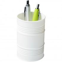 Bardo pennenbak in de vorm van een olievat