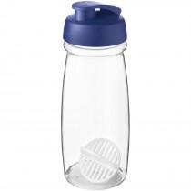 H2O Active Pulse 600 ml sportfles met shaker bal
