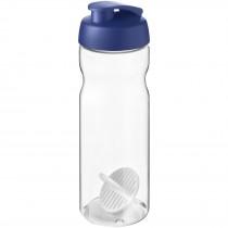 H2O Active Base 650 ml sportfles met shaker bal