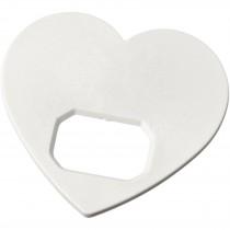 Amour hartvormige flesopener