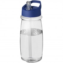 H2O Pulse 600 ml sportfles met tuitdeksel