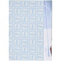 Desk-Mate® A5 kladblok met een omwikkelde omslag