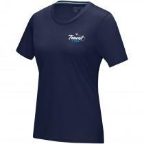 Azurite dames T-shirt met korte mouwen GOTS biologisch textiel