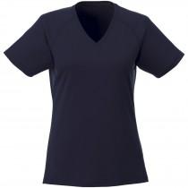 Amery cool fit V-hals dames t-shirt met korte mouwen